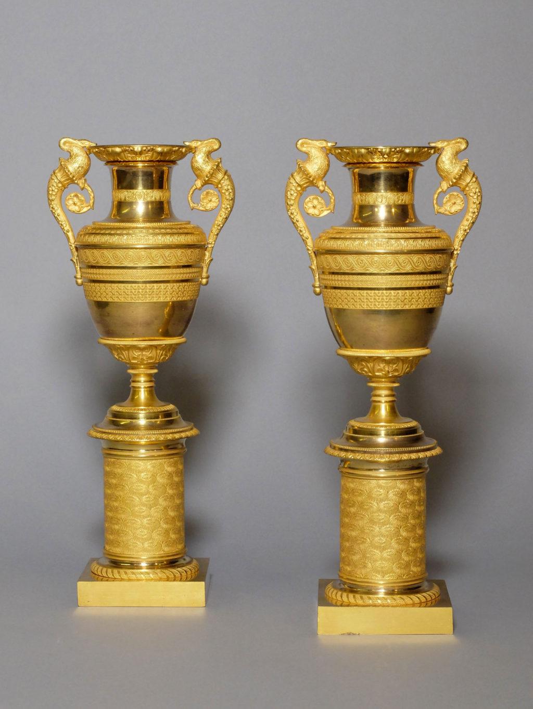 Paire de vases Empire