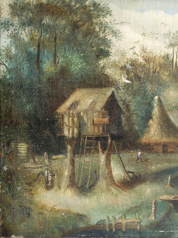 Tableau plantation coloniale