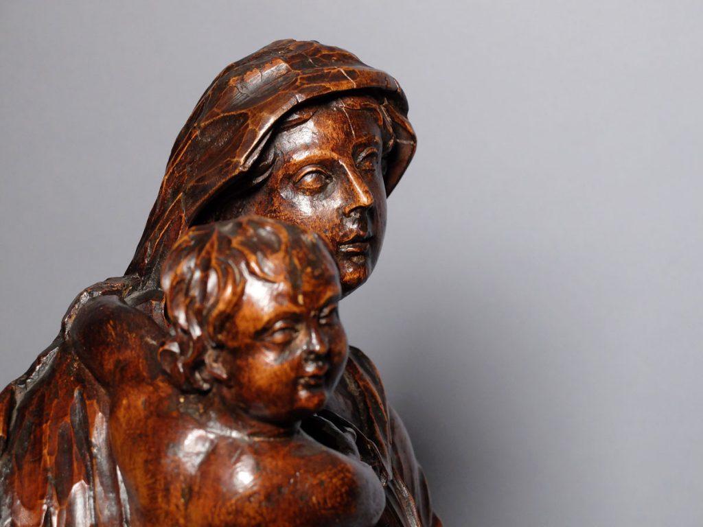 Vierge à l'enfant XVIIIème