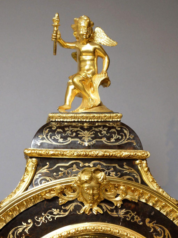 Cartel Louis XIV en marqueterie Boulle