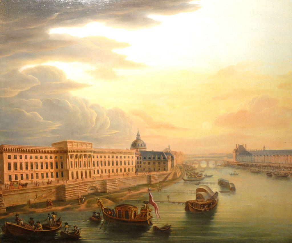 """Vue de Paris"" par Pierre II ROYER"