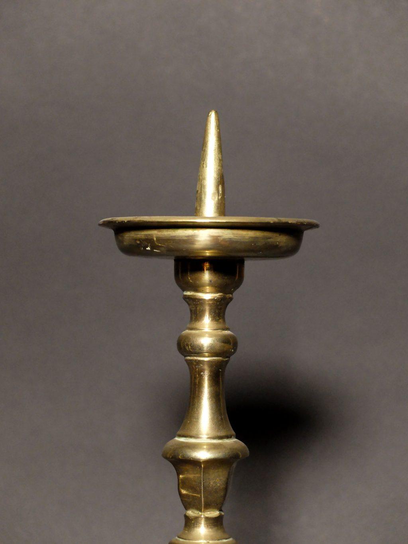 Paire pic-cierges XVIIème