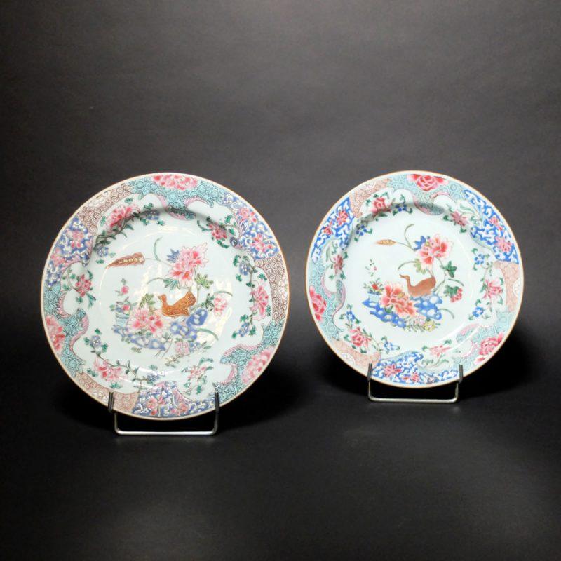 Porcelaine famille rose XVIIIème - Chine
