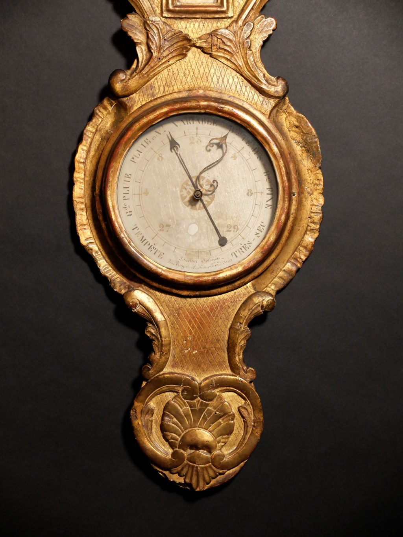 Baromètre d'époque Louis XV