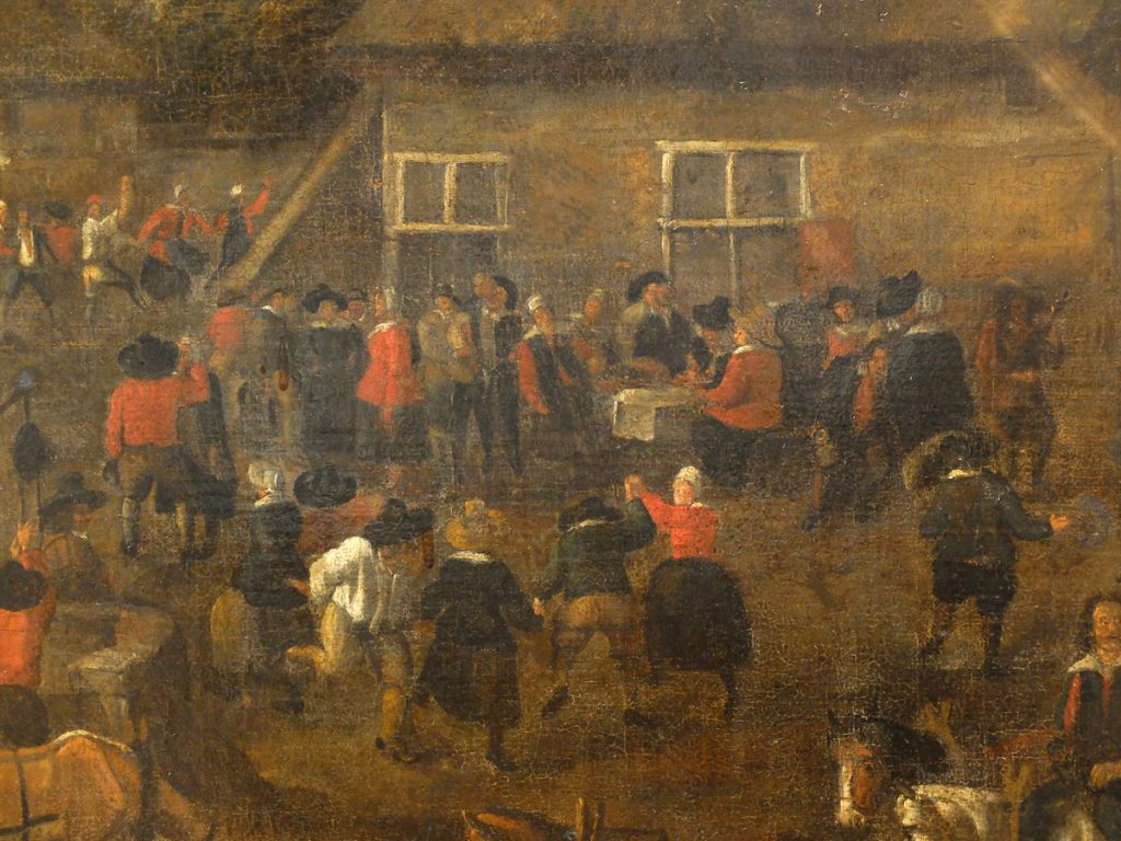 Ecole flamande XVIIème-Kermesse